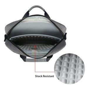 Image 4 - ICozzier ラップトップバッグ 15.6 13.3 インチ防水ため Mackbook エアプロ 13 15 ラップトップショルダーバッグ 13 14 15 インチ