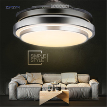 Buy wireless ceiling fan and get free shipping on aliexpress 42 inch modern invisible fan lights acrylic leaf led ceiling fans 36w power wireless remote control aloadofball Choice Image