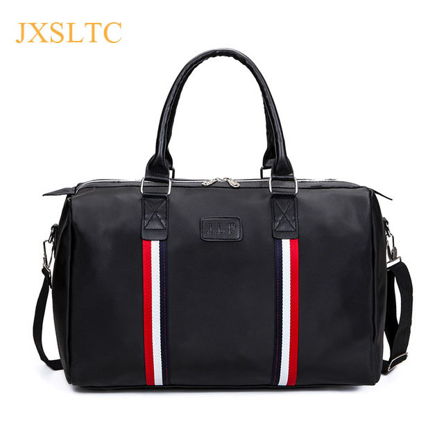 JXSLTC Large Capacity Nylon Travel Bags Big Tote 4 Colors Male Crossbody Bag Handbag Casual Men Hand Luggage Travel Duffle Bag