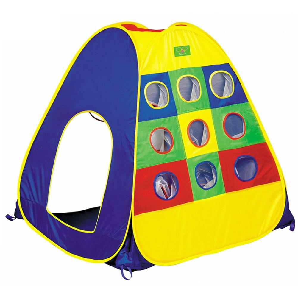 Hot Портативный 112*112*114 см Дети Играют Палатка Игры Дом Крытый открытый Toy Палатка Детям Ребенок Пляж Палатка играть в мяч Ребенок игрушки