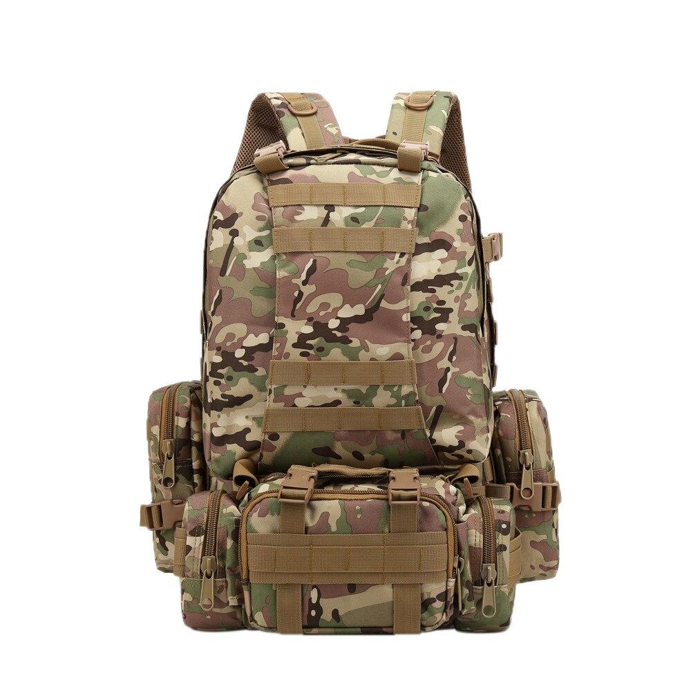 Military Backpack Tactical Waterproof Rucksacks Army Outdoor Sports Camping Hiking Trekking Fishing Hunting Bags Nylon