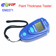 New Free shipping EM 2271 Digital LCD Coating car paint thickness tester EM2271