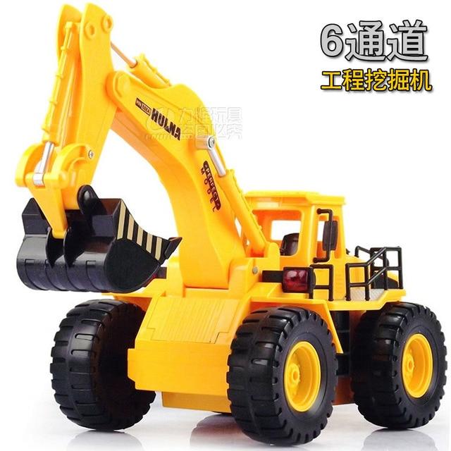360 Degree Rotation Stunt Rc Cars Children Excavator Electric Toy