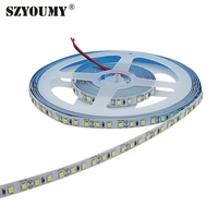 SZYOUMY 2835 120led/m SMD LED Strip light 600led high bright 2835 5M non waterproof led tape diode 12v