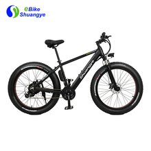 750w motor aluminum frame fat tire electric bicycle