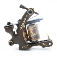 Hot Sales Wire Cutting 10 Wrap Coils Tattoo Machine For Liner And Shader Tattoo Supplies For Free Shipping