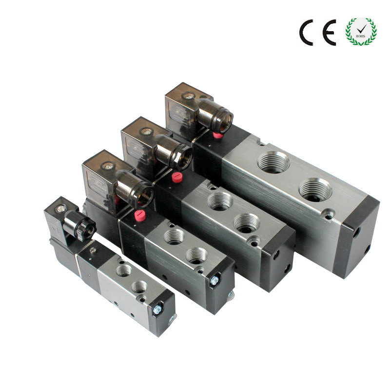 10pcs/lot 3 Way 1/4 BSP 1/4 Inch Airtac Pneumatic Solenoid Valve 3V210-08 12v 24v 110v 220v DC AC smc type pneumatic solenoid valve sy5120 3lzd 01