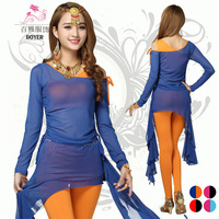 Belly Dance New Autumn And Winter Suit High Grade Cotton Long Sleeved Suit Color Modal Gauze