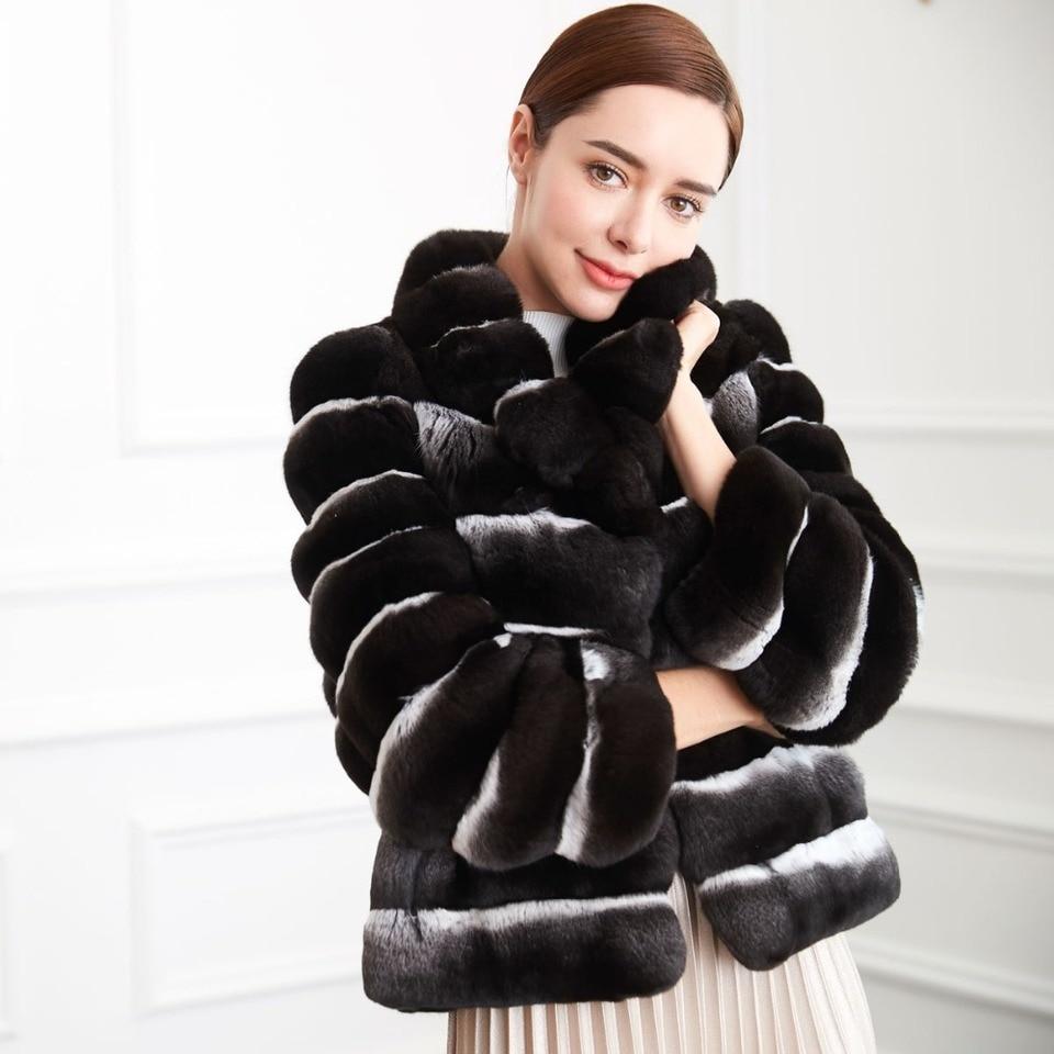 Echtpelz Mantel Frauen Luxus Pelz Fur Russland Winter 100 Naturliche Chinchilla Mantel High End Qualitat Fell Kleidung Weibliche Npi 80119b Real Fur Coat Real Fur Coat Womenfur Real Aliexpress
