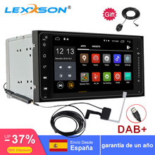 auto android 6.0 Quad Core 2din car dab radio for Toyota Corlla EX GPS+Wifi+Bluetooth+1080P+TPMS+RDS+FM+AM+SWC+Mirror-link+OBD 2