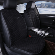 цена на Car winter winter heating cushion vehicle truck, single and double seat heaters single-seat single plush seat cushion sets