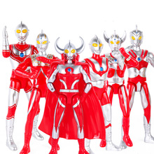 24cm Ultraman Taro Seven Jack Ace Father of Ultra Cute Action Figures PVC Doll Collection Model Toys Gifts without box