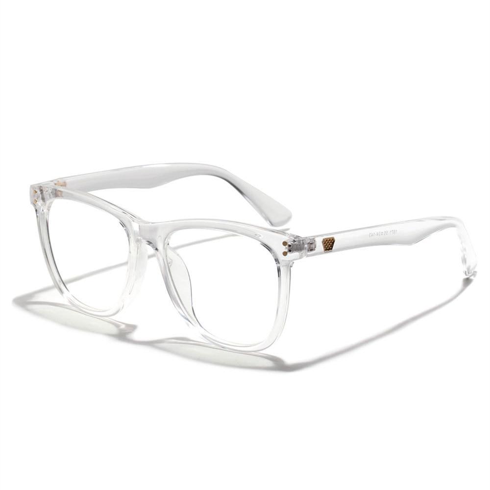 Brand Optical Glasses Frame Women Anti Blue Light Transparent Spectacle Frames Men Myopia Computer Eyeglasses