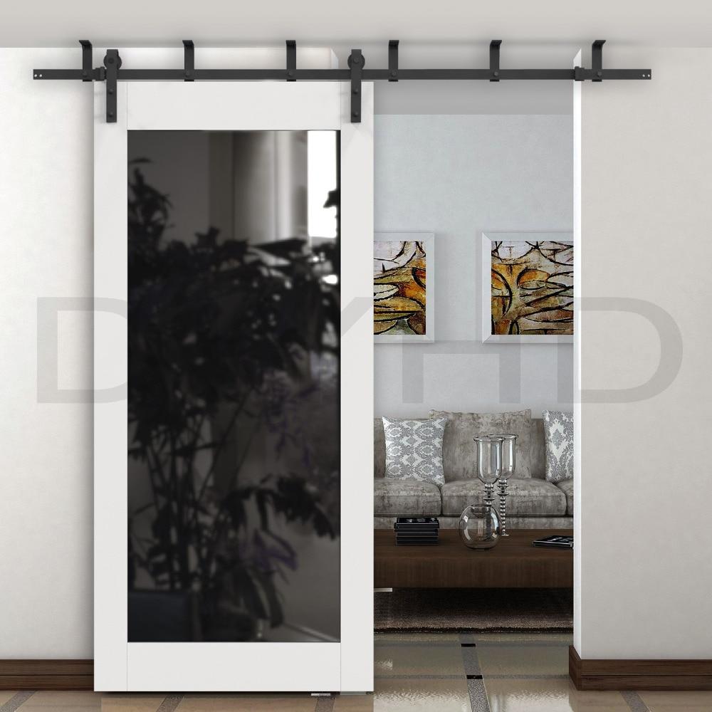 Compra puertas correderas de madera online al por mayor de - Carril para puerta corredera ...