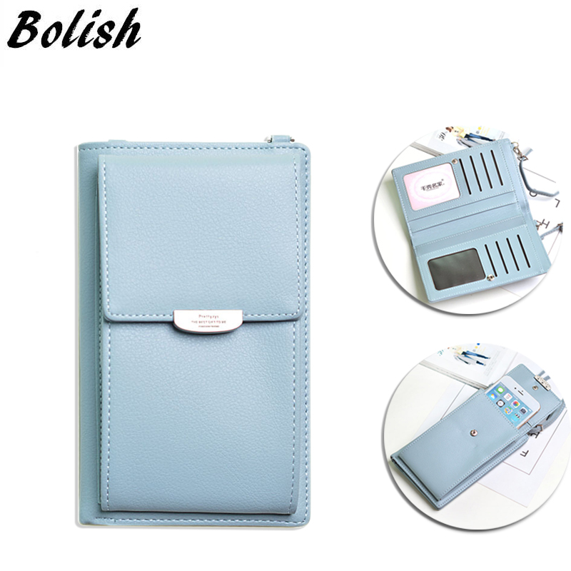 New Lady Style Women Mini Crossbody Bag Multifunctional Female Wallet Phone Case All-match Portable Small Change Package Purse
