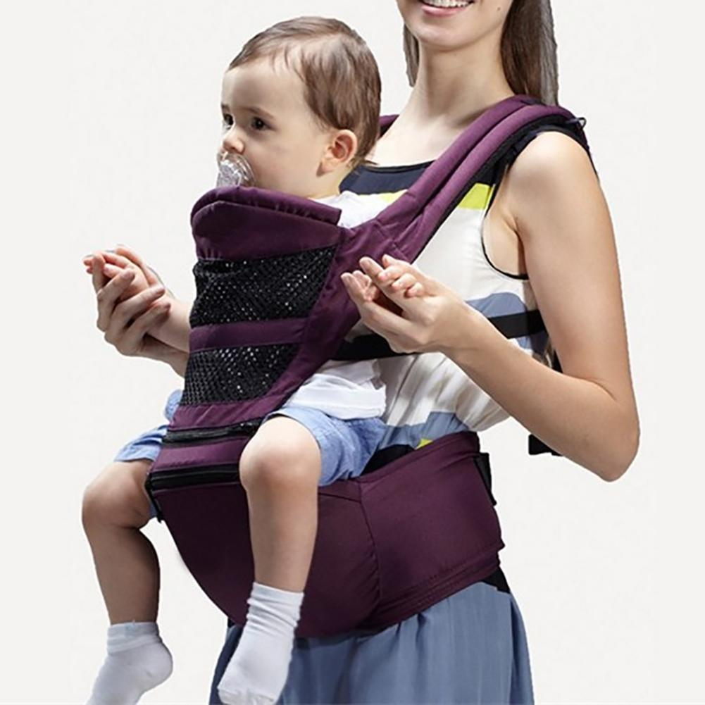 Multi functional Seasons Baby Carrier Waist Stool Cotton Front Holding Type Child Harness Child Safe Seat