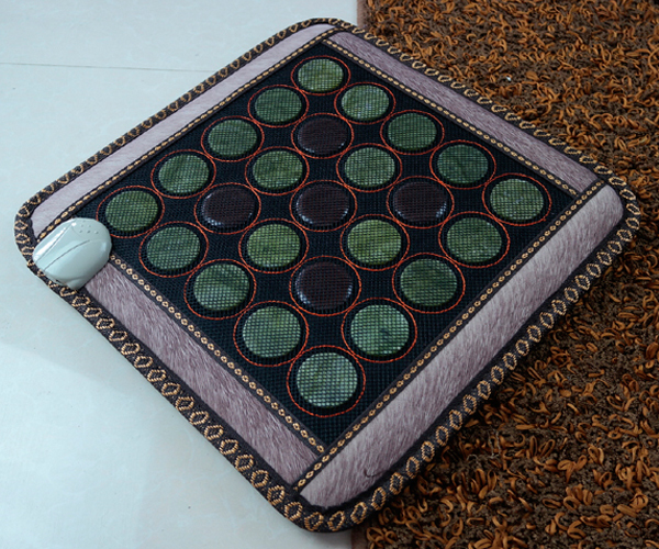 Best Selling 2016 Heated Seat Pad Germanium Heat Cushion Office Heat Seat Cushion Health Care Pad Jade Massage Pad 45*45CM цены онлайн