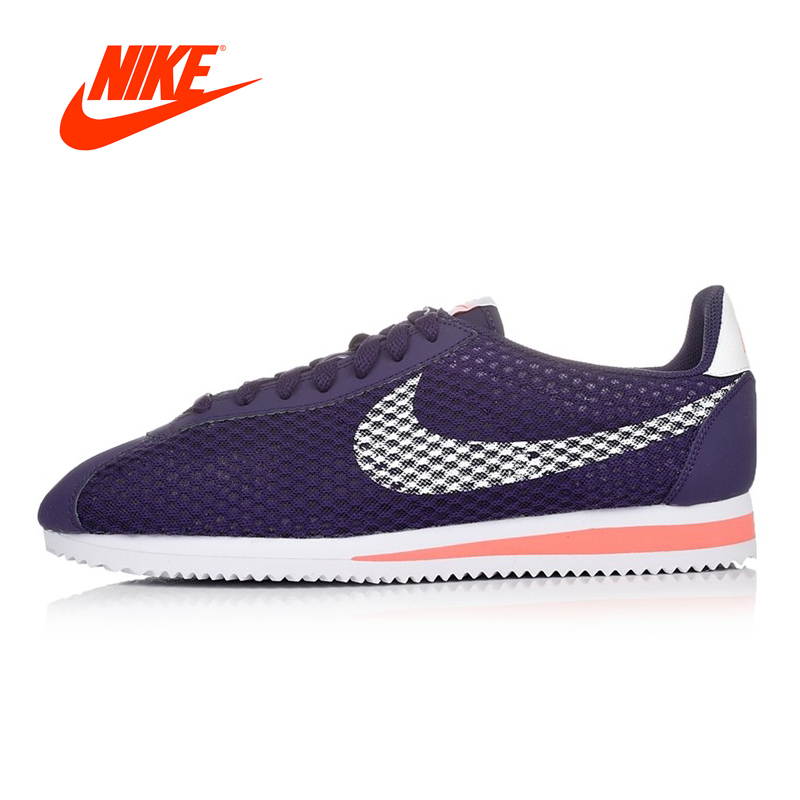Original Nike CLASSIC CORTEZ NYLON Men's Skateboarding Shoes Breathable Sneakers Outdoor Comfortable original nike classic cortez nylon men s skateboarding shoes 532487 sneakers free shipping