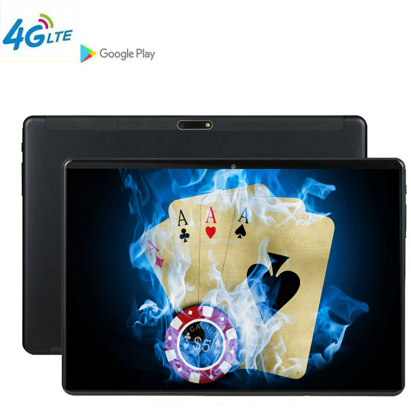 DHL Tablet Game Phablet MTK6797 10 Inch Tablet PC 3G 4G LTE Android 9 10 Core Metal  Tablets 6GB RAM Big 128GB ROM WiFi GPS 10.1