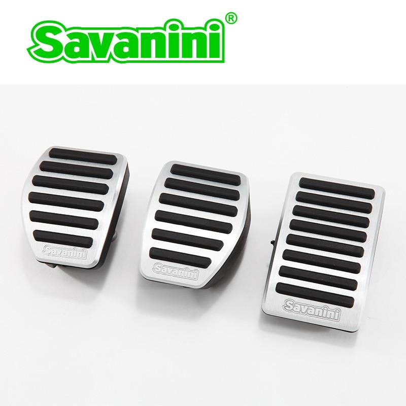 Savanini подножка тормоза газа педаль акселератора Колодка Без бурения для peugeot 508/Citroen C5 AT/MT. Нескользящий алюминиевый сплав - Название цвета: clutch brake gas pad