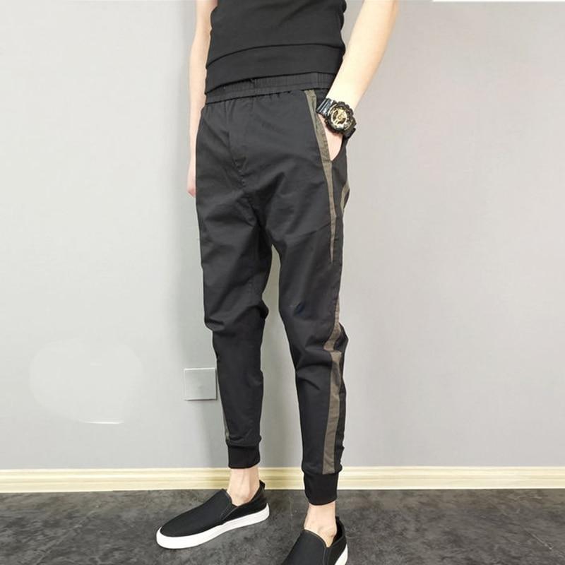 Trousers Clothing Harem-Pants Elastic Joggers Plus-Size Fashion Pencil Harajuku Casual