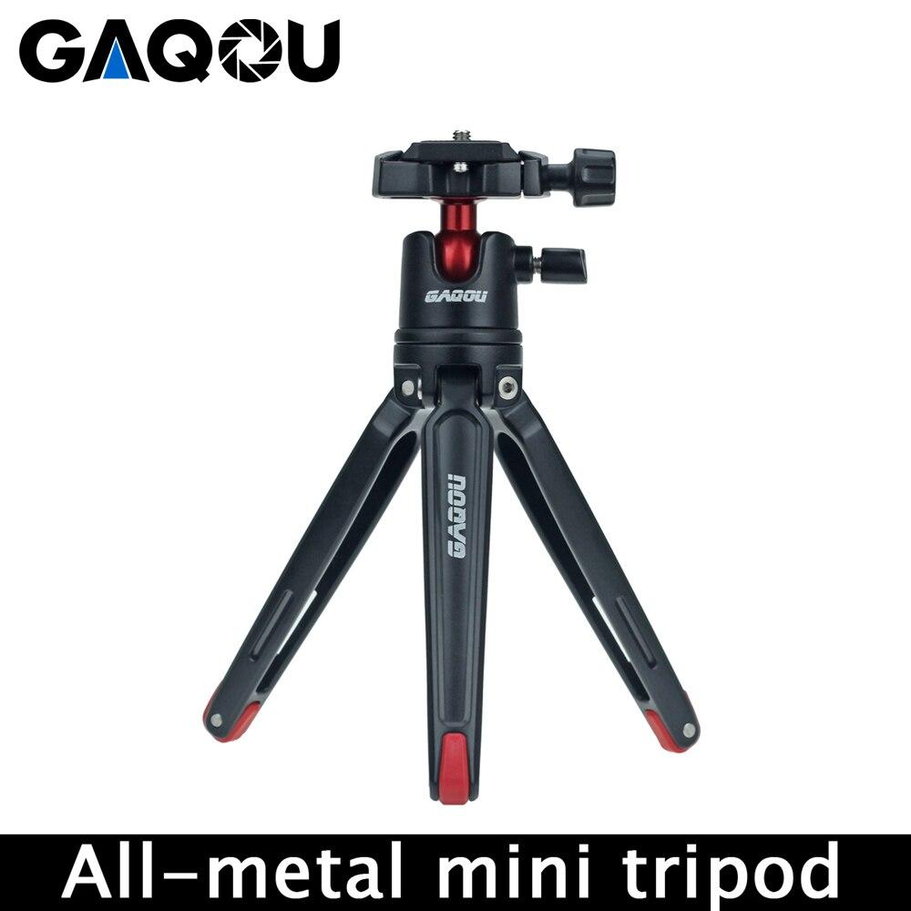 Mini All-metal Pocket Tripod Stand Holder Mount Desktop Gorillapod Tripod For Phone Nikon Canon DSLR Digital Camera Accessories