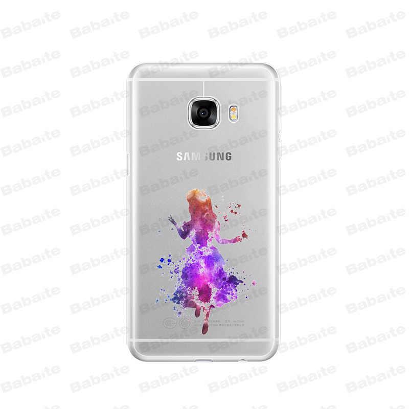 Babaite Cat Air Alice Putri Ariel Silikon Lembut Tpu Ponsel Cover UNTUK Samsung S5 S6 S6 Edge S6edge Plus S7 S8 s9 Plus Cover