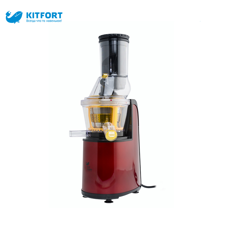 Juicer kitfort KT-1102 electric set auger juicers zipper stainless steel hand wheat grass juicers manual auger slow juice fruit wheatgrass vegetable orange juice extractor machine