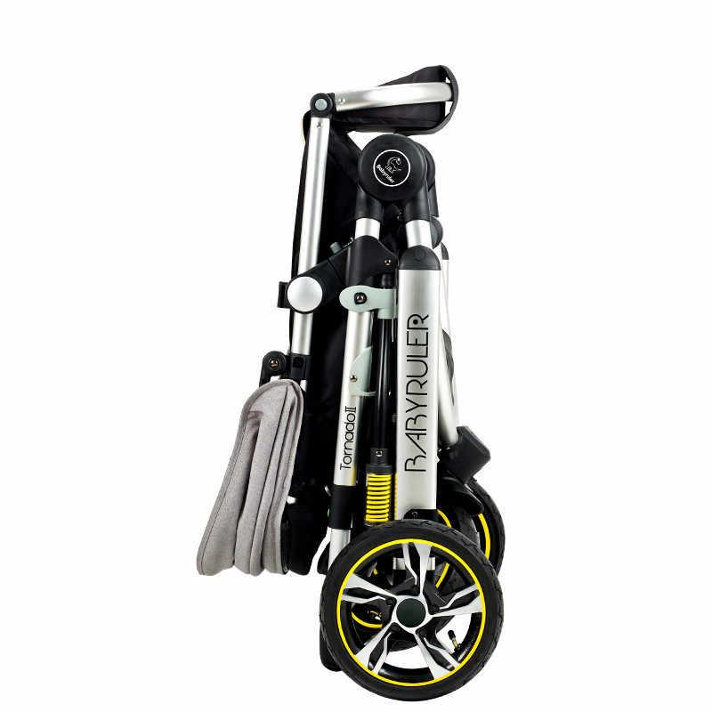 Детская коляска Kidstravel Складные портативные коляски с высоким стульчиком трехколесный высокий Landscope Pram Bebek Arabasi kinderwgen