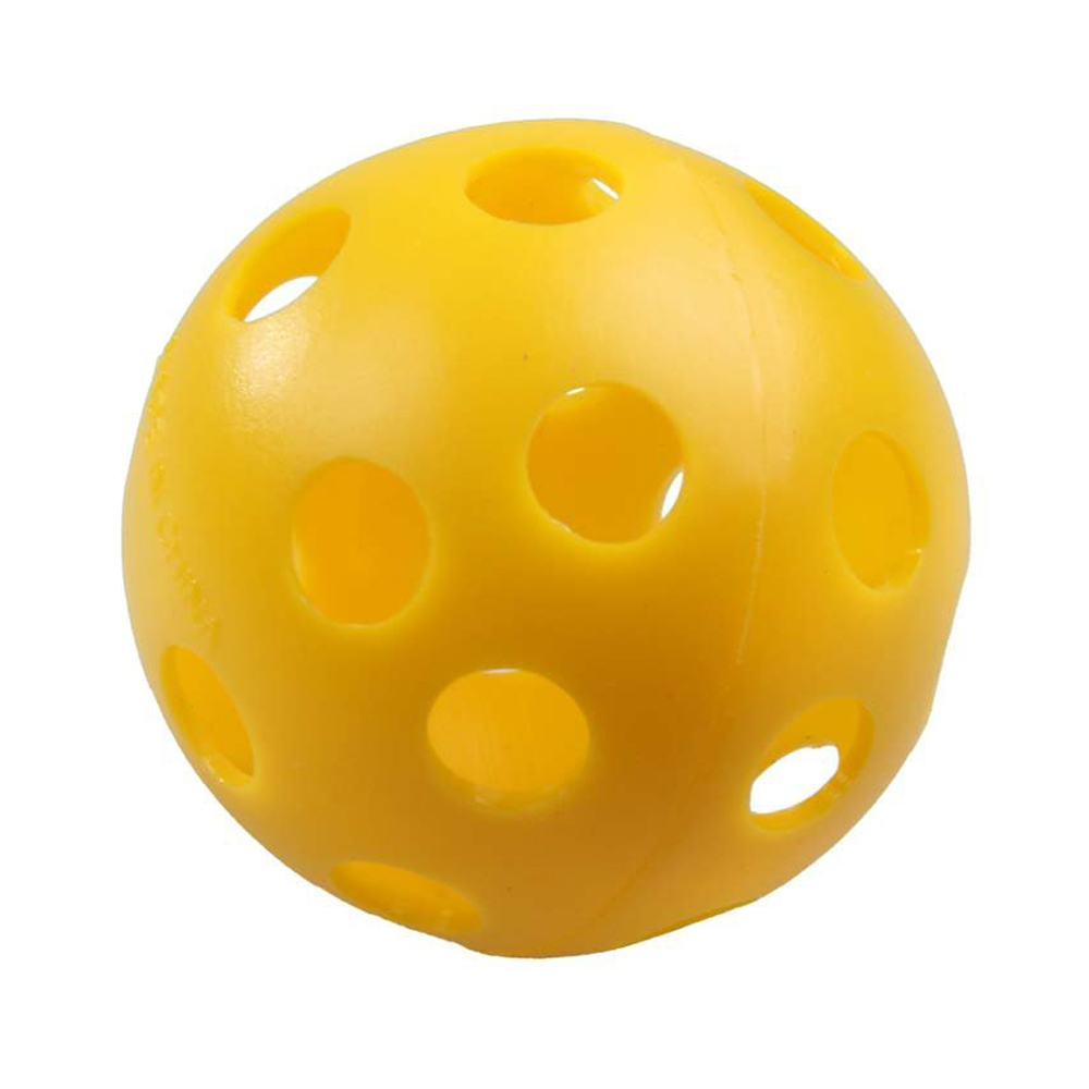 12 x Plastic Whiffle Airflow Hollow Golf Practice Training Sports Balls