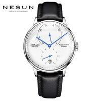 2018 New Fashion Men Watch Waterproof Power Reserve Simple Mechanical Watch Luxury Brand Zegarek Meski Relogio masculino