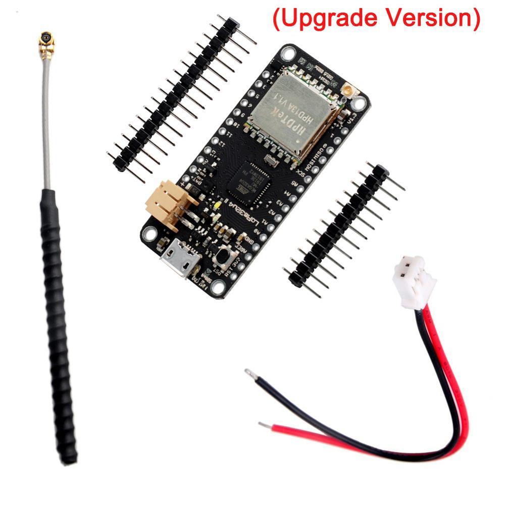 Upgrade LoRa32u4 II Lora Development Board Module LiPo Atmega328 SX1276 HPD13 915MHz 868MHZ Temperature Humidity Ambient Light