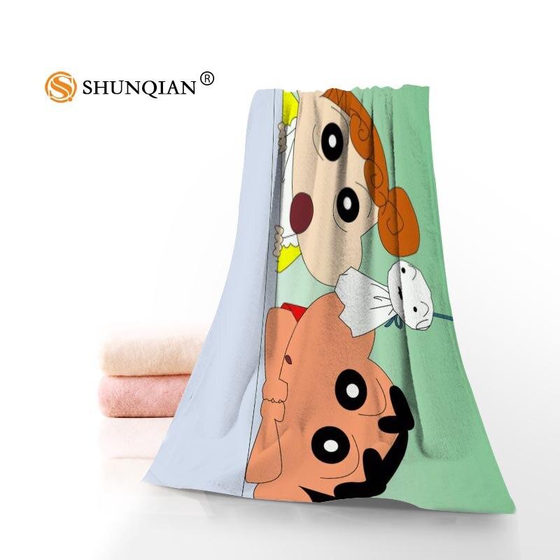 Crayon Shin Chan serviettes microfibre serviettes de bain voyage, plage, serviette de visage serviette personnalisée taille 35X75 cm, 70X140 cm A8.8