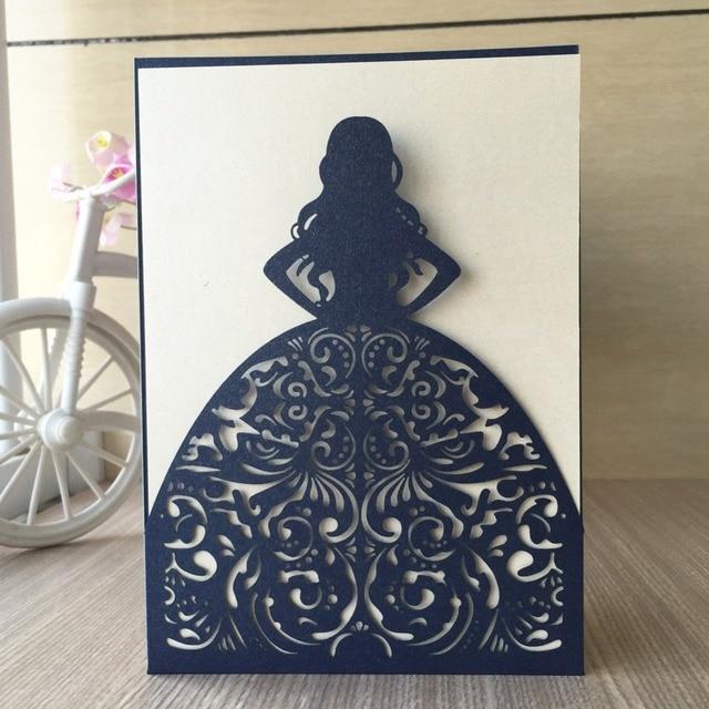 20pcs 15th Birthday Bat Bar Mitzvah Wedding Party Invitation Card Decoration Cards Invitations Blessing