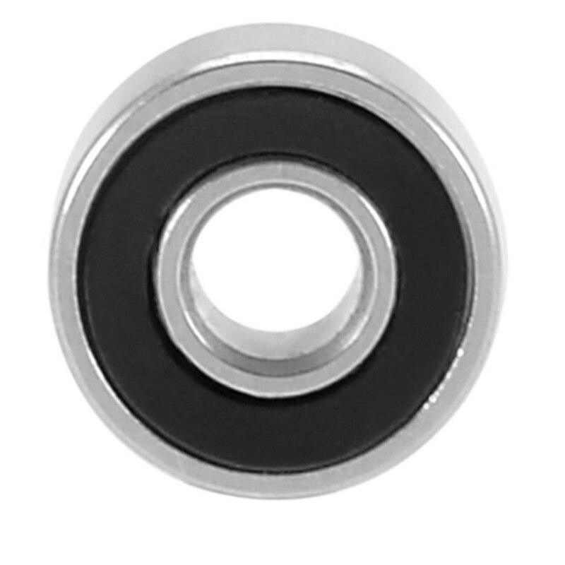 20шт 693RS 3 мм x 8 мм x 4 мм углеродистая сталь двойной герметичный миниатюрный глубокий шаровой подшипник Longboard шарикоподшипники для скейтборда вал