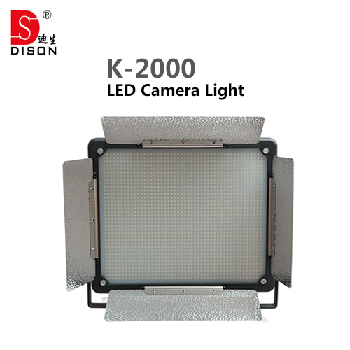 3 pieces Dison LED Studio Photo camera light  K-2000 150 W 10000 Lumen 3200-5500k Color Temperature Adjustable Video Light