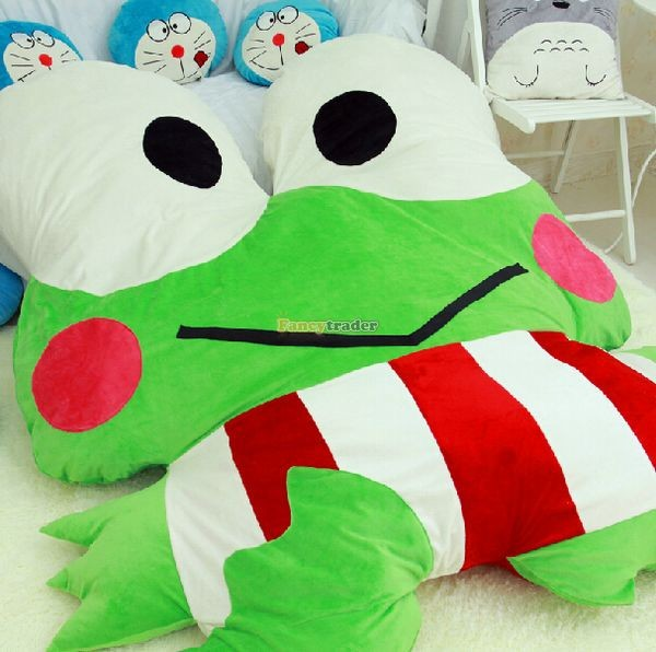 Fancytrader  180cm X 165cm Soft Funny Giant Big eye Frog Bed Carpet Tatami Sofa, FT50317 (9)
