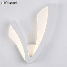 Modern LED Wall Lamp For Bathroom Bedroom 12W Wall Sconce White Indoor Lighting Lamp AC100-265V LED Wall Light Indoor Lighting