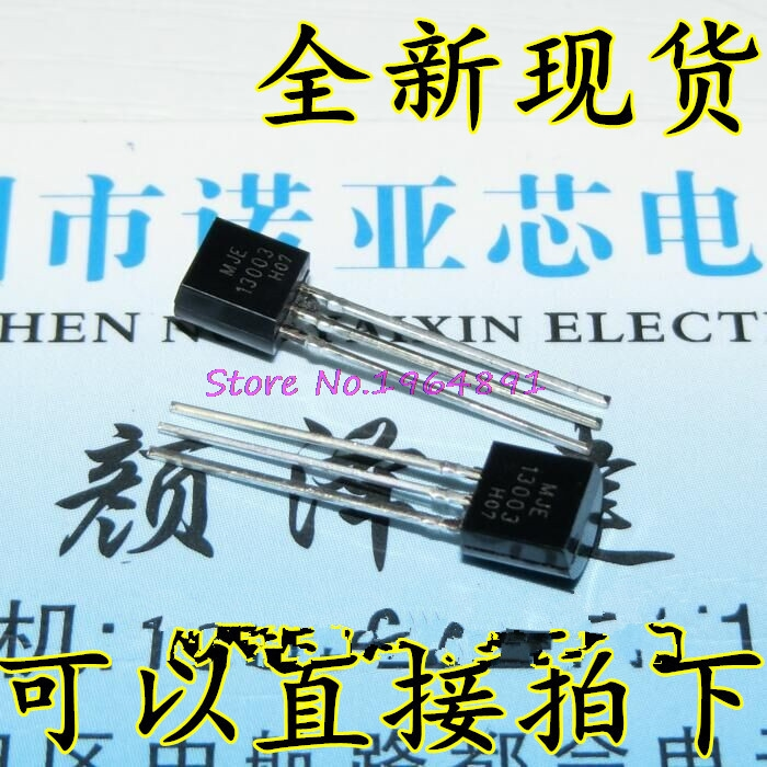 50pcs/lot MJE13003 E13003 13003 TO-92 In Stock