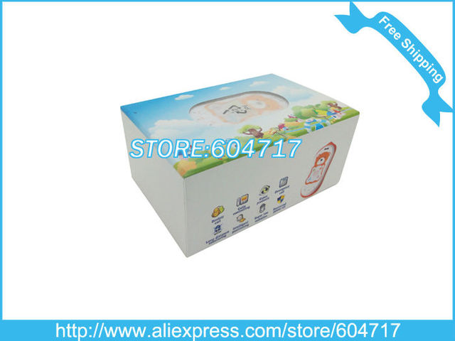 HK Post Free shipping 2pcs/baby Controlled by two Guardians/Quad band global GPS+LBS kid cell phone/Retail acceptable