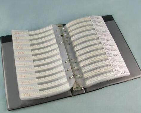 105valuesX25pcs 2625pcs 2512 5 0R 10M ohm SMD Resistor Kit RC2512 JR 07 series Sample Book