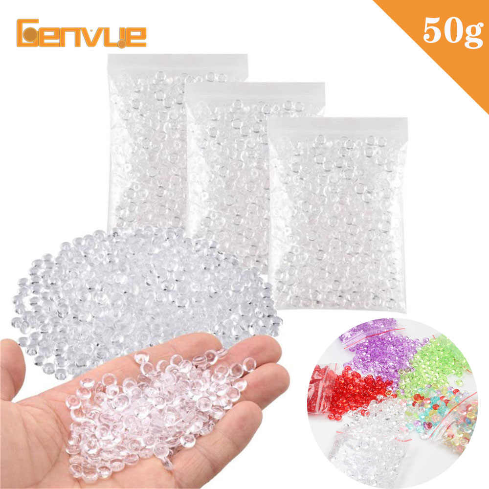 Colorful Bead Balls Addition Filler For Slime Toys Arts Party Craft Fish Tank Decoration For Kids DIY Slime Accessories Supplies