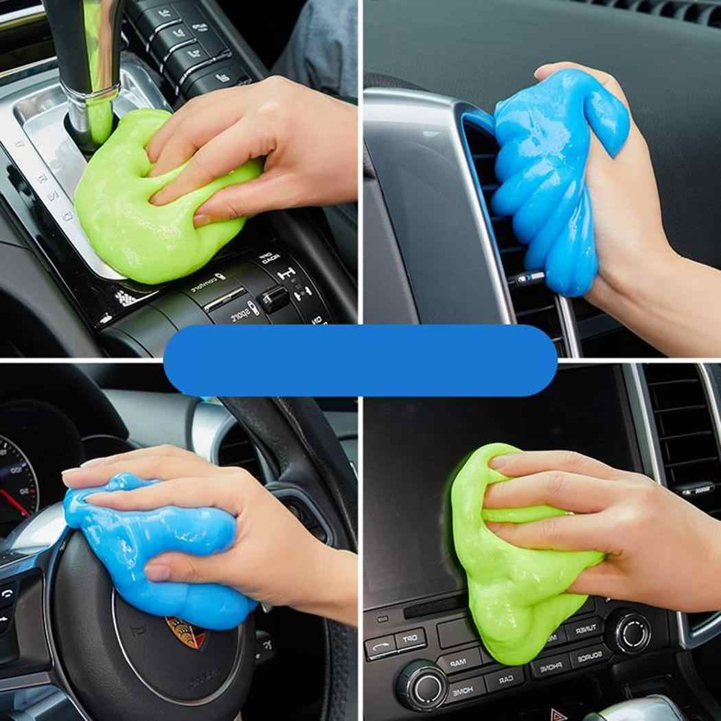 plarges Car Cleaning Gel Air Vent Dashboard Interior Cleaner Tool Keyboard Clean Glue Computer Vacuums