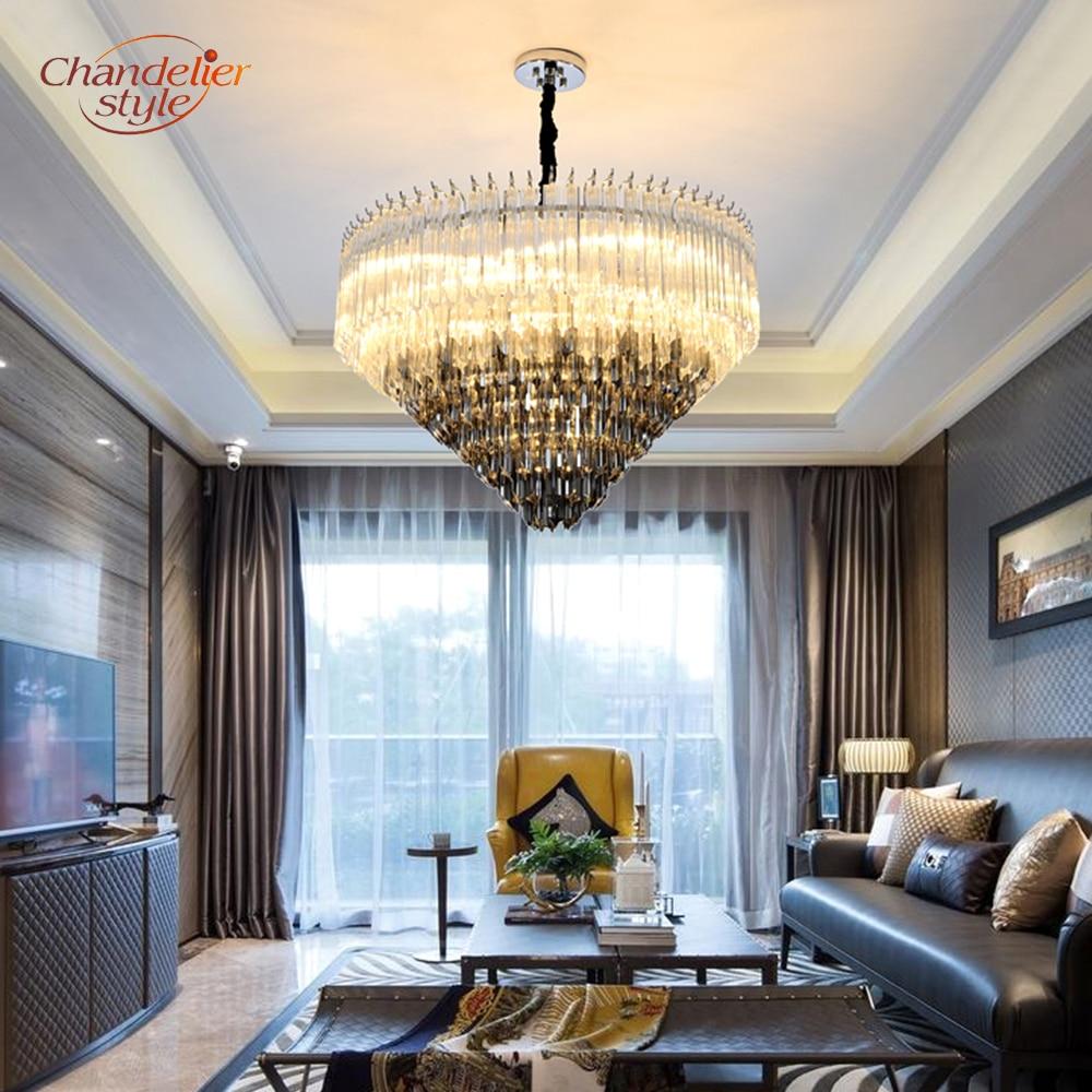 Modern Murano Glass Prism Chandelier Lighting Luxury Chandelier Glass Hanging Light Fixture for Home Hotel Restaurant Decoration|Chandeliers| |  - title=