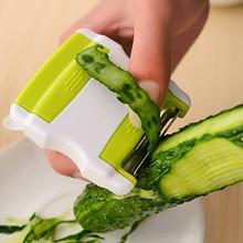 2 In 1 Vegetable Fruit Cucumber Peeler Twister Cutter Slicer Carrot Grater Kitchen Utensil Tool Salad Tools