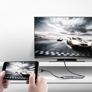 Image 2 - Docking Station 4K Video Output for Samsung Dex Galaxy S8 S9 S10/Plus Note 8/9 Tab s4 s5e to TV Monitor Projector USB C Hub
