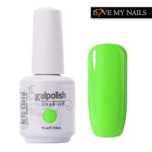 Гель-лак Arte Calvo для дизайна ногтей, 15 мл, УФ-светодиодная лампа для дизайна ногтей, отмачиваемый Гель-лак для ногтей, индивидуальный дизайн