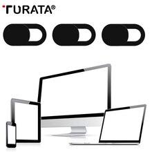 TURATA 3 шт. веб-камера слайдер затвора пластиковая крышка камеры наклейка для iPad телефона веб-ноутбуков, MAC планшет конфиденциальности Телефон чехол для веб-камеры