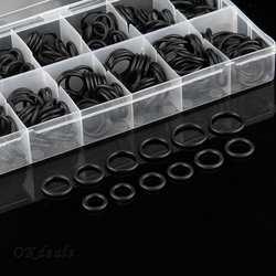225 шт Авто Резиновые Уплотнительные Шайбы уплотнительные кольца уплотнительные прокладки наборы