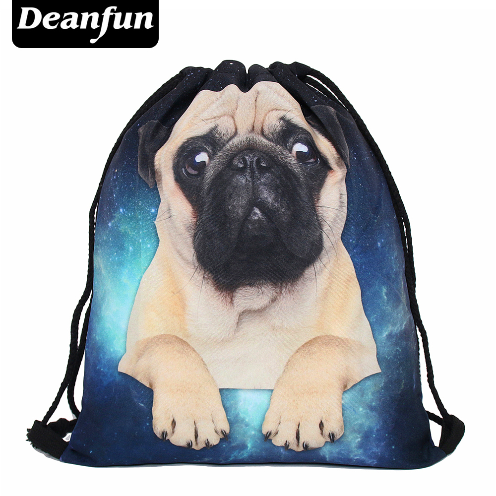 Deanfun backpack 3d print animal travel softback man wonmen mochila feminina harajuku drawstring bag unisex backpacks deanfun brand new 2016 escolar backpack 3d printing travel softback man women mochila feminina drawstring bag backpack pizza s47